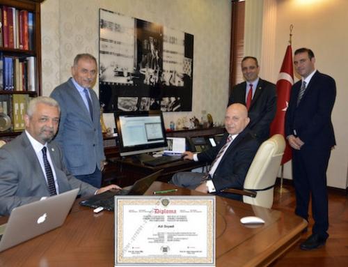 Ankara Üniversitesi'nde e-Diploma Dönemi Başlıyor